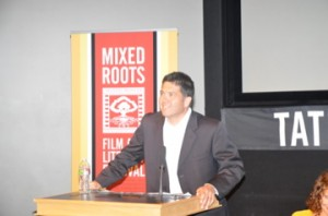 Frank Buckley Host for Mixed Roots History Panel